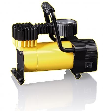 КАЧОК К50LED Компрессор с светодиодным фонарем 4LED 7Атм 30л/мин 12А шланг 1,55м кабель 3м 12В сумка