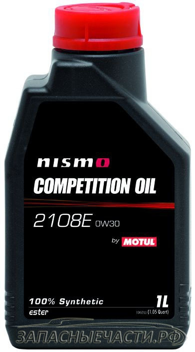 Моторное масло MOTUL NISMO COMPETITION OIL 2208E, 0W-30, 1 л, 102820