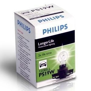 "Лампа ""LongerLife"", 12 В, 19 Вт, PS19W, PG20/1, PHILIPS, 12085 LLC1"