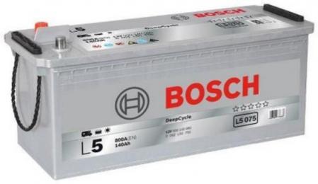Аккумуляторная батарея Bosch L5, 12 В, 140 А/ч, 800 А, 0092L50750