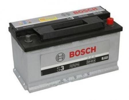 Аккумуляторная батарея Bosch S3, 12 В, 90 А/ч, 720 А, 0092S30130