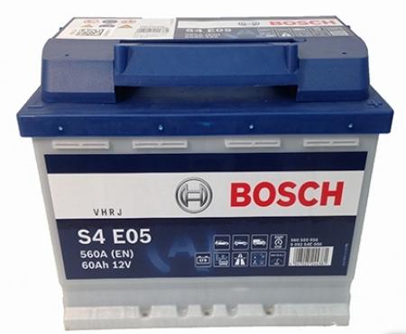 Аккумуляторная батарея Bosch S4 EFB, 12 В, 60 А/ч, 650 А, 0092S4E050