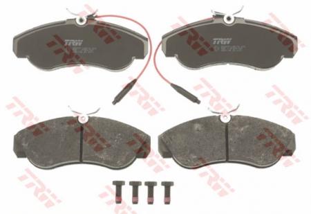 Колодки дисковые Передние, TRW, GDB1106