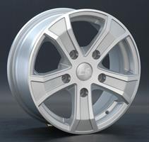 Колесный диск LS Wheels LS A5127 6.5x16/5x139,7 D71.6 ET40 серебристый полность полированный (SF)