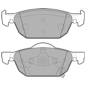 Колодки дисковые, DELPHI, LP2144