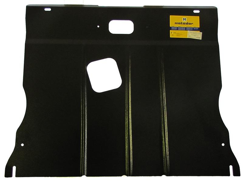 Защита картера двигателя, КПП MB B-klasse 2005-2011 V=2.0 (сталь 2 мм), MOTODOR01220