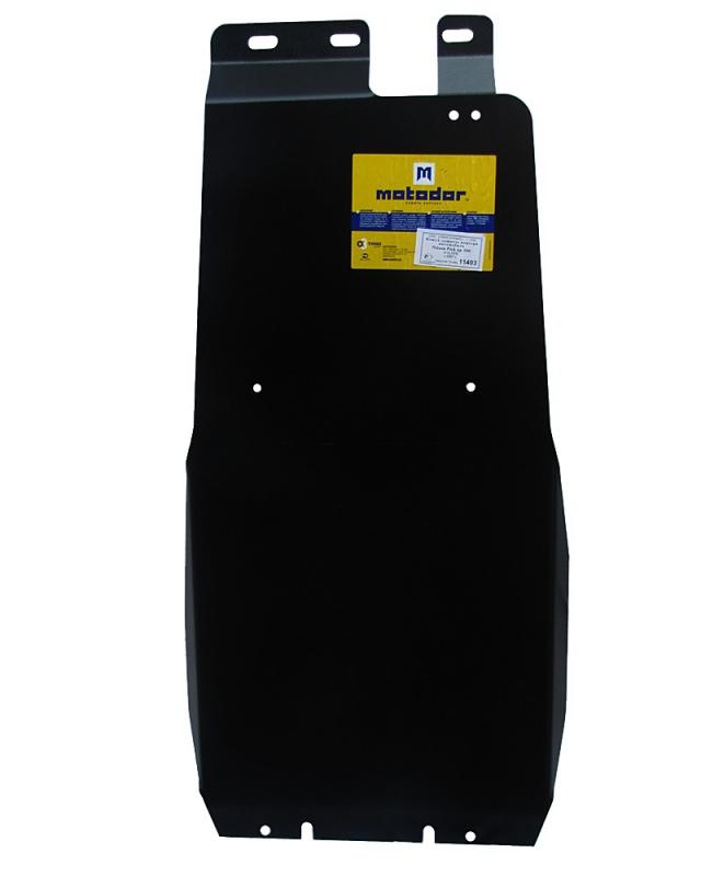 Защита картера двигателя, КПП, ПДФ Nissan NP300 Pick up (D22) 2008- V= все (сталь 3 мм), MOTODOR1140