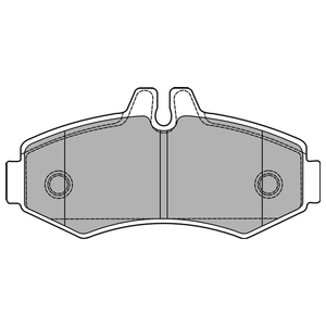 Колодки дисковые, DELPHI, LP1425