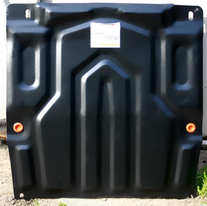 Защита картера двигателя и кпп Chevrolet Aveo (Шевроле Авео) (V-все, с 2006-2012) штамп. (Сталь 1,8