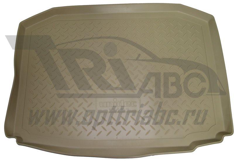 Коврик багажника для Nissan Tiida (C12) Хэтчбек (2015-) Бежевый, NPA00T61770BEIGE