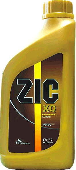 Моторное масло ZIC XQ, 5W-40, 1л, 137006