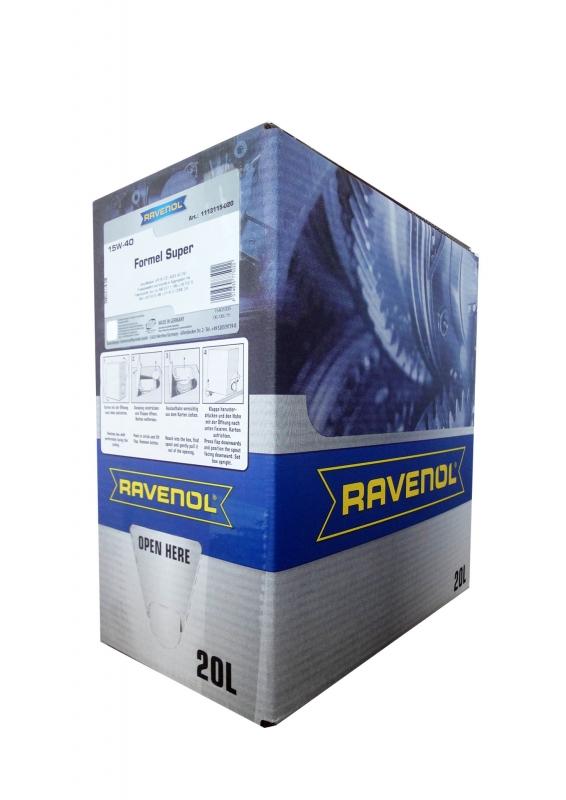 Моторное масло RAVENOL FORMEL SUPER, 15W-40, 20л, 4014835775022