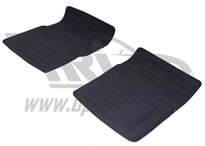 Коврики салона резиновые с бортиком для Daewoo Nexia (2005-) евроборт (2 передних), ADRPRO0162