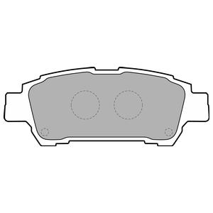 Колодки дисковые, DELPHI, LP1710