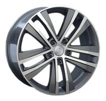 Колесный диск Ls Replica VW44 7.5x17/5x112 D66.6 ET47 серый матовый, полностью полированный (GMF)