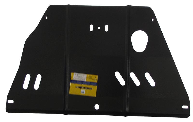 Защита картера двигателя, КПП Nissan Micra (K11) 1992-2002 V= все (сталь 2 мм), MOTODOR01428