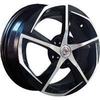 Колесный диск NZ SH654 7x17/5x110 D56.6 ET39 черный полностью полированный (BKF)