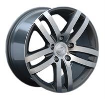 Колесный диск Ls Replica VW88 9x20/5x130 D66.6 ET57 серый глянец, полированнные спицы и обод (GMF)