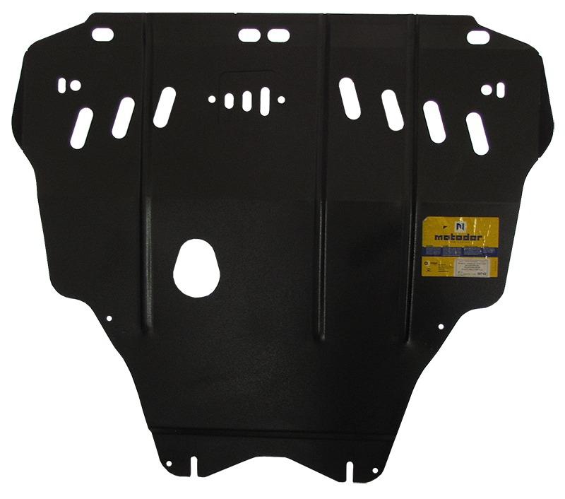 Защита картера двигателя, КПП Ford C-max 2003-2010 Focus II 2005-2011 V =1,6, 1,8, 2,0 (сталь 2 мм),