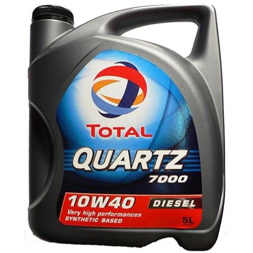 Моторное масло TOTAL QUARTZ 7000 Diesel, 10W-40, 5л, 201524