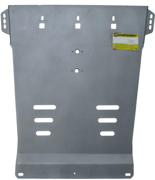 Защита картера AКПП Mitsubishi L200 2006-2013 V= все (алюминий 5 мм), MOTODOR31308