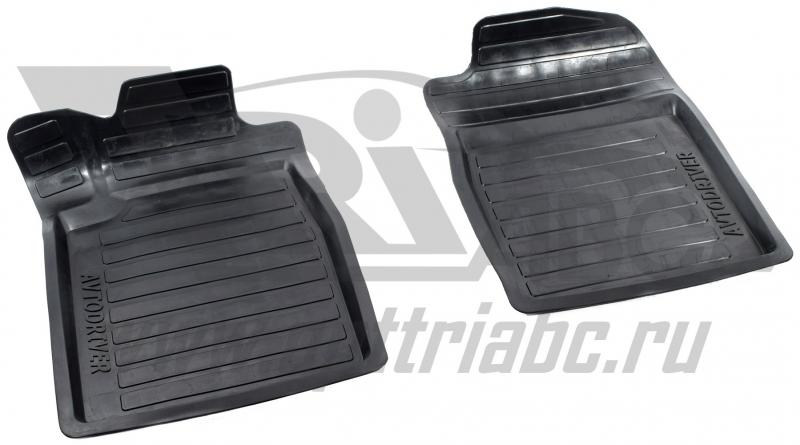 Коврики салона резиновые с бортиком для Honda CR-V (2012-) (2 передних), ADRAVG1412