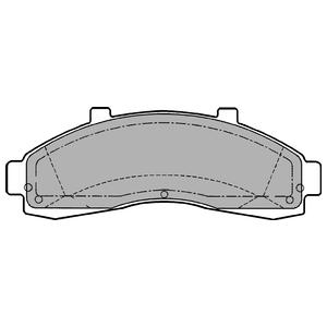 Колодки дисковые, DELPHI, LP1625