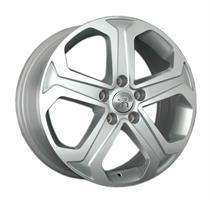 Колесный диск Ls Replica SZ48 6.5x17/5x114,3 D60.1 ET45 серебристый , полированнная лицевая сторона