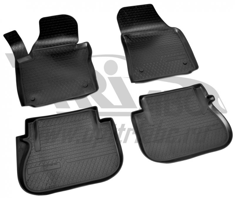 Коврики салона для Volkswagen Caddy III (2004-2015)\ Volkswagen Caddy IV (2015-) (2 задн.сдвижные дв