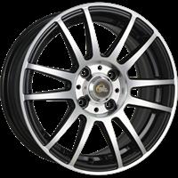 Колесный диск Cross Street Y4917 6x15/4x100 D63.3 ET45 черный полностью полированный (BKF)