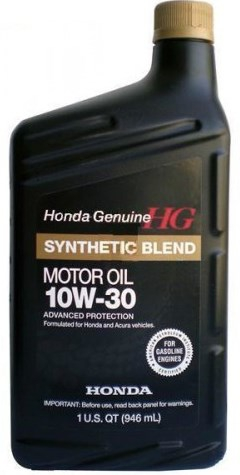 Моторное масло HONDA Synthetic Blend, 10W-30, 1л, 08798-9035