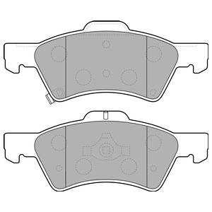 Колодки дисковые, DELPHI, LP1693