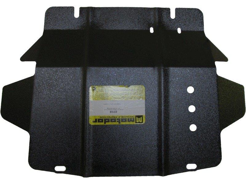 Защита картера двигателя, КПП, РК Great Wall Wingle 2006- V= все (сталь 2 мм), MOTODOR03108