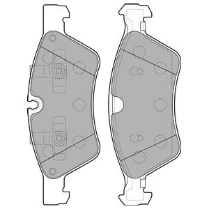 Колодки дисковые, DELPHI, LP2125