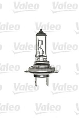 Лампа, 12 В, 55 Вт, H7, PX26d, VALEO, 032 008