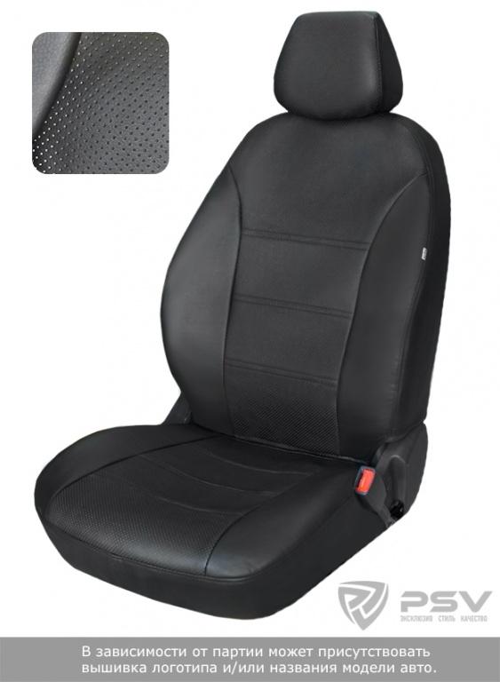 """Чехлы Chevrolet Lacetti 2004-2013 диван спл., спинка 1/3, черный аригон, """"БРК"""", 122160"""