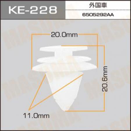 Клипса автомобильная (автокрепеж) MASUMA, KE228