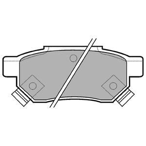 Колодки дисковые, DELPHI, LP625