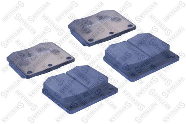 Колодки дисковые, STELLOX, 074000SX