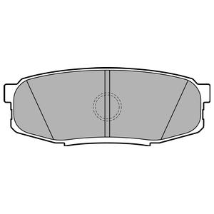 Колодки дисковые, DELPHI, LP2154