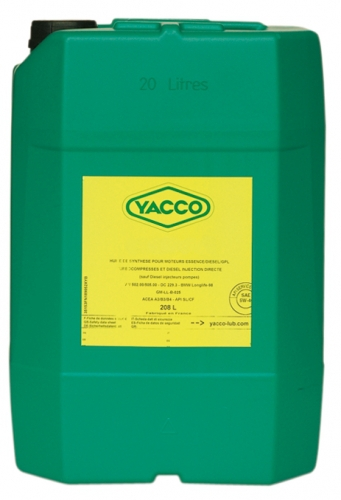 Масло грузовое YACCO TRANSPRO 40 S FE п/синт. 10W30 ,CJ-4 –CI-4 PLUS/CI-4/SM (208 л)