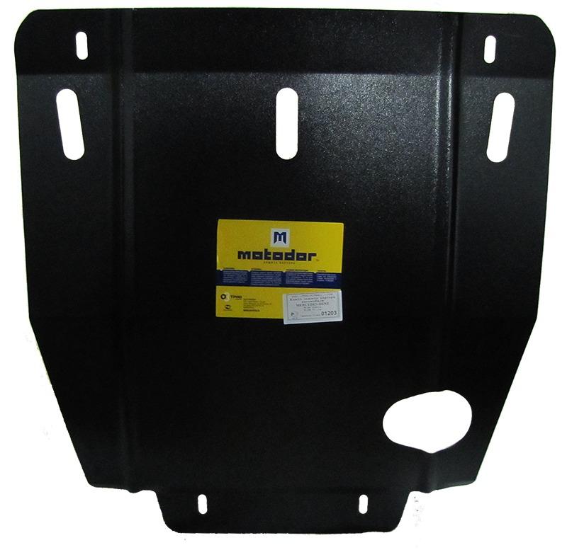 Защита картера двигателя, КПП MB C, W202 V-1.8 2.0 2.3 2.8(1994-2000) (сталь 2 мм), MOTODOR01203