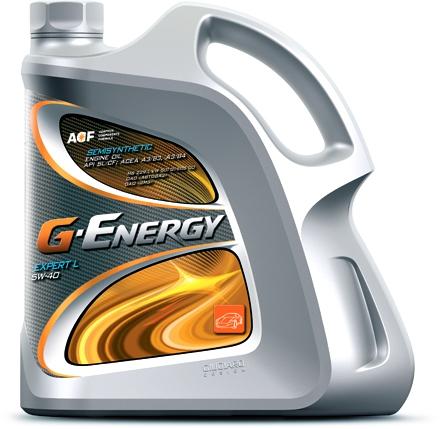 Моторное масло G-ENERGY Expert L, 10W-40, 5л, 4650063115379