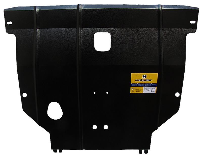 Защита картера двигателя, КПП Citroen C5 I 2001-2004 V= все (сталь 2 мм), MOTODOR00403
