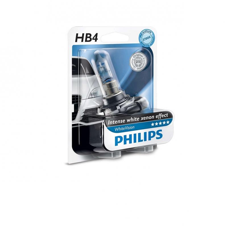 """Лампа """"WhiteVision"""", PHILIPS, 9006WHVB1"""
