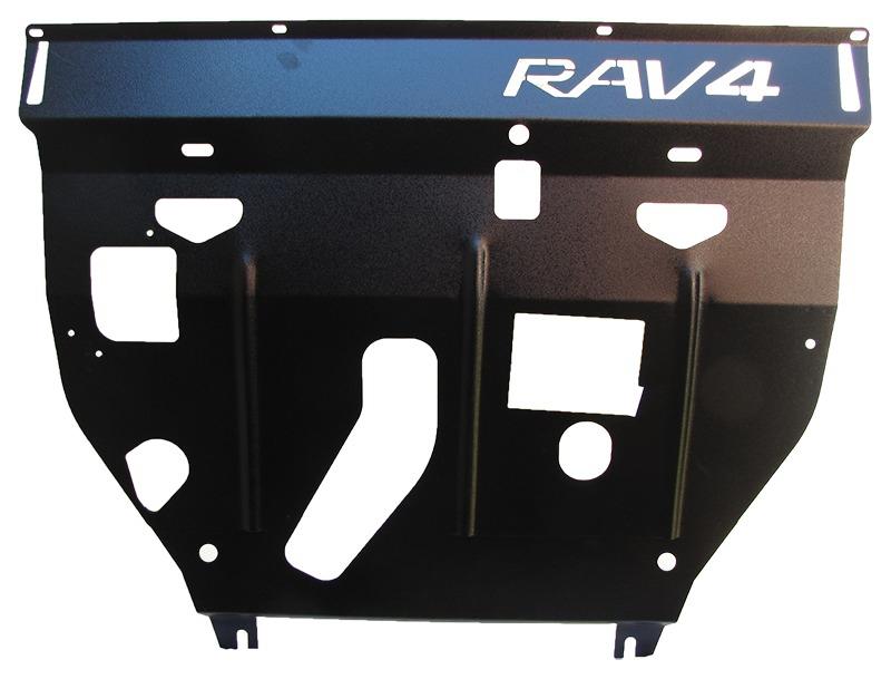 Защита картера двигателя, КПП Toyota RAV4 III 2006-2013 V= все (сталь 2 мм), MOTODOR02535