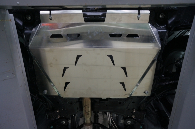 Защита картера двигателя и кпп Mazda (Мазда) CX-7 V-2.3, 2,5( 2007-) /Mazda (Мазда) CX-9 V-все (2013