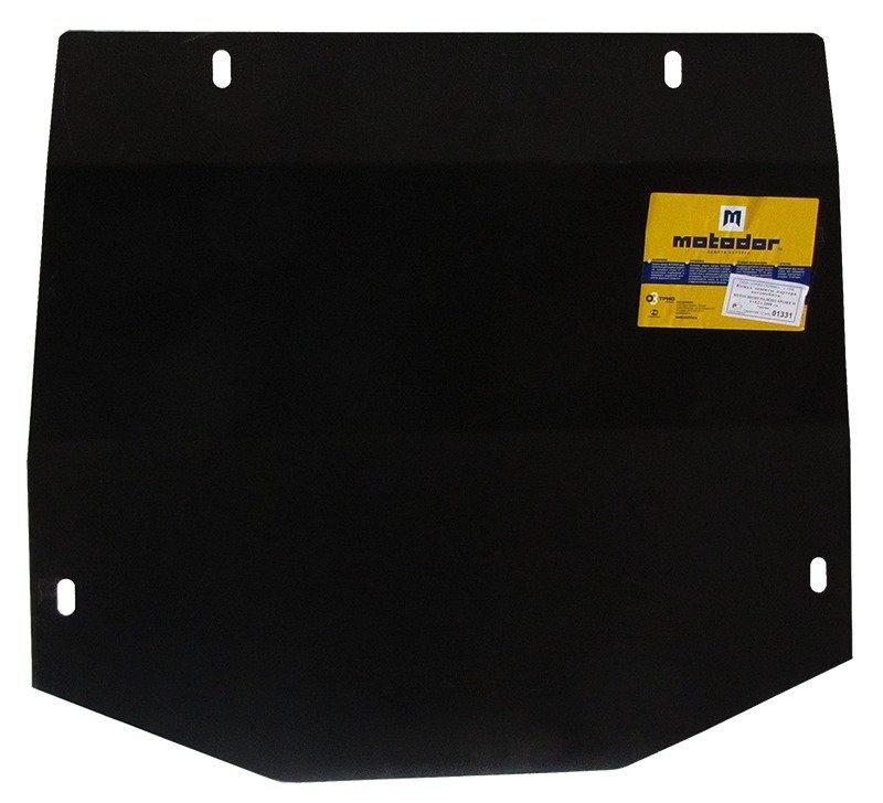 Защита картера двигателя, КПП, ПДФ, радиатора Mitsubishi Pajero Sport II 2008- V=3,2 (сталь 2 мм), M