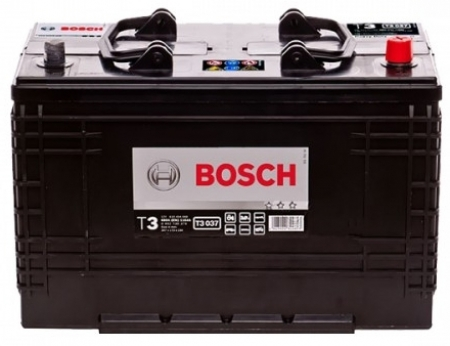 Аккумуляторная батарея Bosch T3, 12 В, 110 А/ч, 680 А, 0092T30370