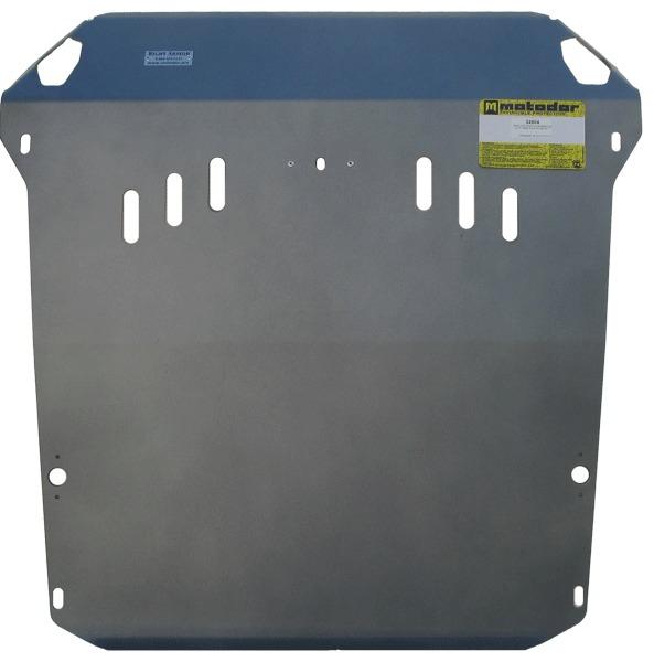 Защита картера двигателя, КПП Ssang Yong Actyon 2010-2013 V=2.0TD (алюминий 5 мм), MOTODOR32804